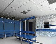 Los vestuarios del polideportivo paco yoldi se renovar n for Piscinas paco yoldi
